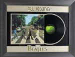 "The Beatles: Paul McCartney Signed ""Abbey Road"" Album in Custom Framed Display! (PSA/DNA)"
