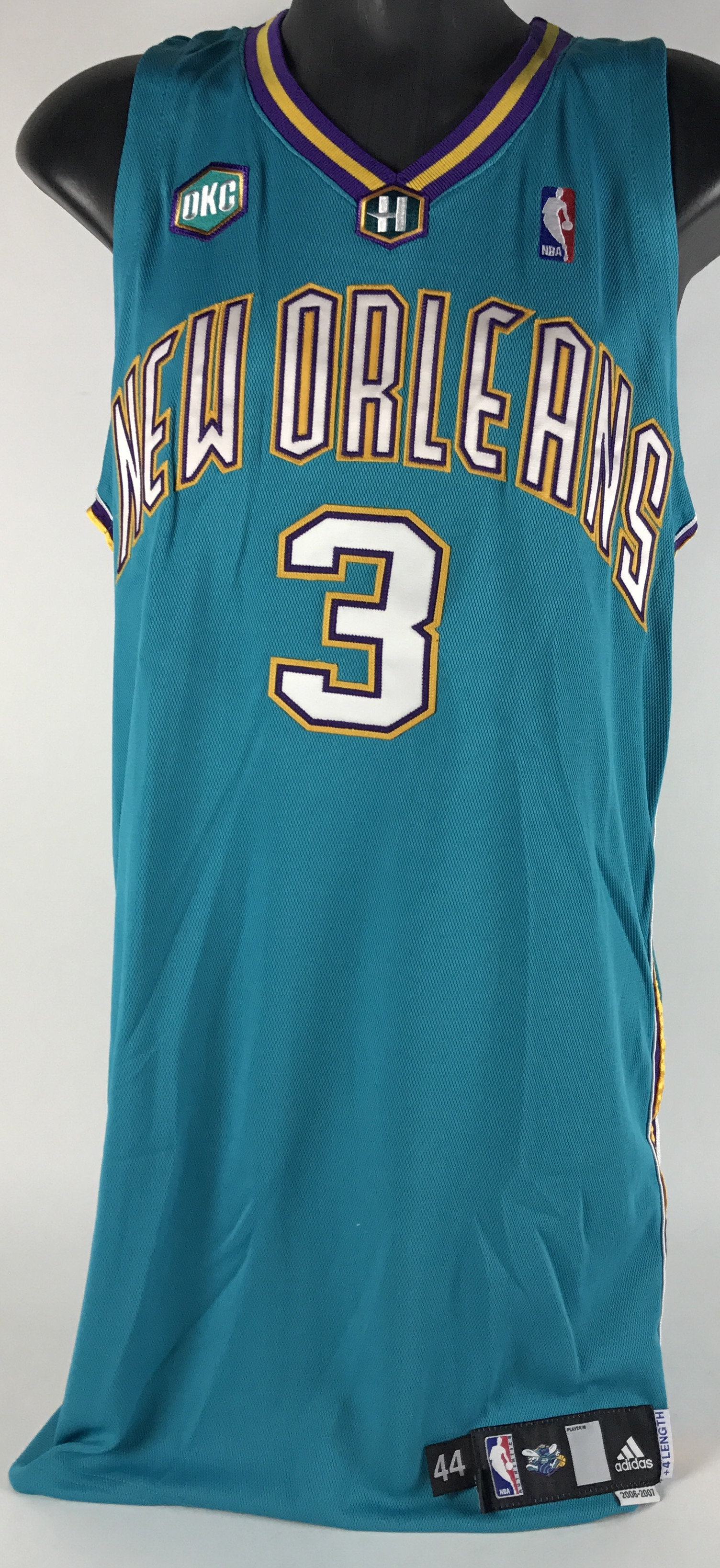 ... coupon for 2006 2007 chris paul new orleans okc hornets game used road  jersey 8b23b 84d56 ef46b0573