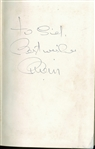 "The Beatles: Brian Epstein Signed ""A Cellarful Of Noise"" Hardcover Book (PSA/DNA)"