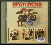 "The Beatles: Ringo Starr Signed ""Beatles 65"" CD Case (PSA/DNA)"
