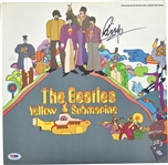 "The Beatles: Ringo Starr Signed ""Yellow Submarine"" Record Album (PSA/DNA)"