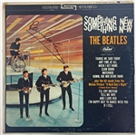 "The Beatles: Paul McCartney Signed ""Something New"" Album Beckett Graded MINT 9!"