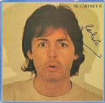 "The Beatles: Paul McCartney Signed ""McCartney II"" Album Cover - PSA/DNA Graded GEM MINT 10!"