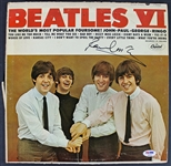 "The Beatles: Paul McCartney Signed ""Beatles VI"" Record Album (PSA/DNA)"