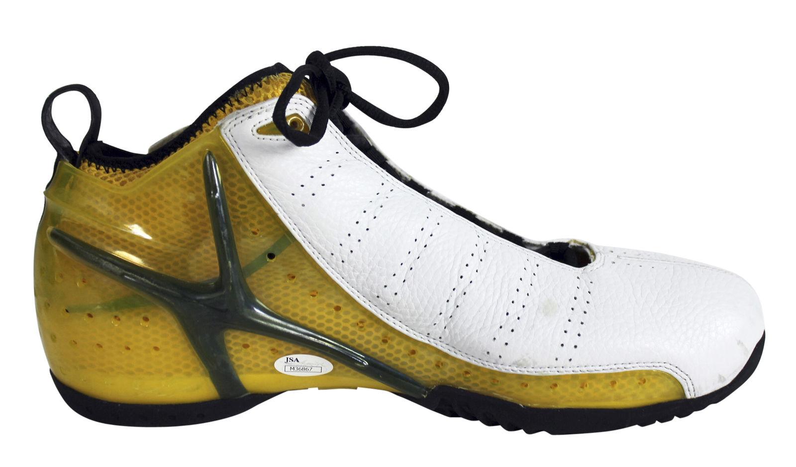 251925f764c 2002 Gary Payton Game Worn   Signed Personal Model Basketball Sneakers (JSA  ...