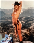 "Pamela Anderson Signed 16"" x 20"" Nude Playboy Photograph (#1) (Beckett/BAS Guaranteed)"