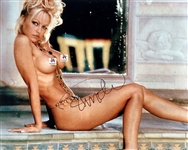 "Pamela Anderson Signed 16"" x 20"" Nude Playboy Photograph (#3) (Beckett/BAS Guaranteed)"