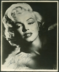 "Marilyn Monroe Exceptional Signed 8"" x 10"" Provocative Photograph (Beckett/BAS)"