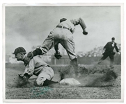 Incredible Ty Cobb Signed Charles Conlon Type II Photograph w/ MINT 8 Autograph - The Finest in Existence! (PSA/DNA & JSA)