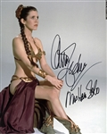 "Carrie Fisher Rare Signed 8"" x 10"" Photograph w/ ""Mrs. Han Solo"" Inscription (PSA/DNA)"