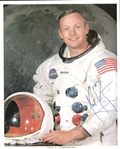 "Apollo 11: Neil Armstrong Signed 8"" x 10"" Color NASA Photo w/ Superb Un-Inscribed Signature! (JSA Guaranteed)"