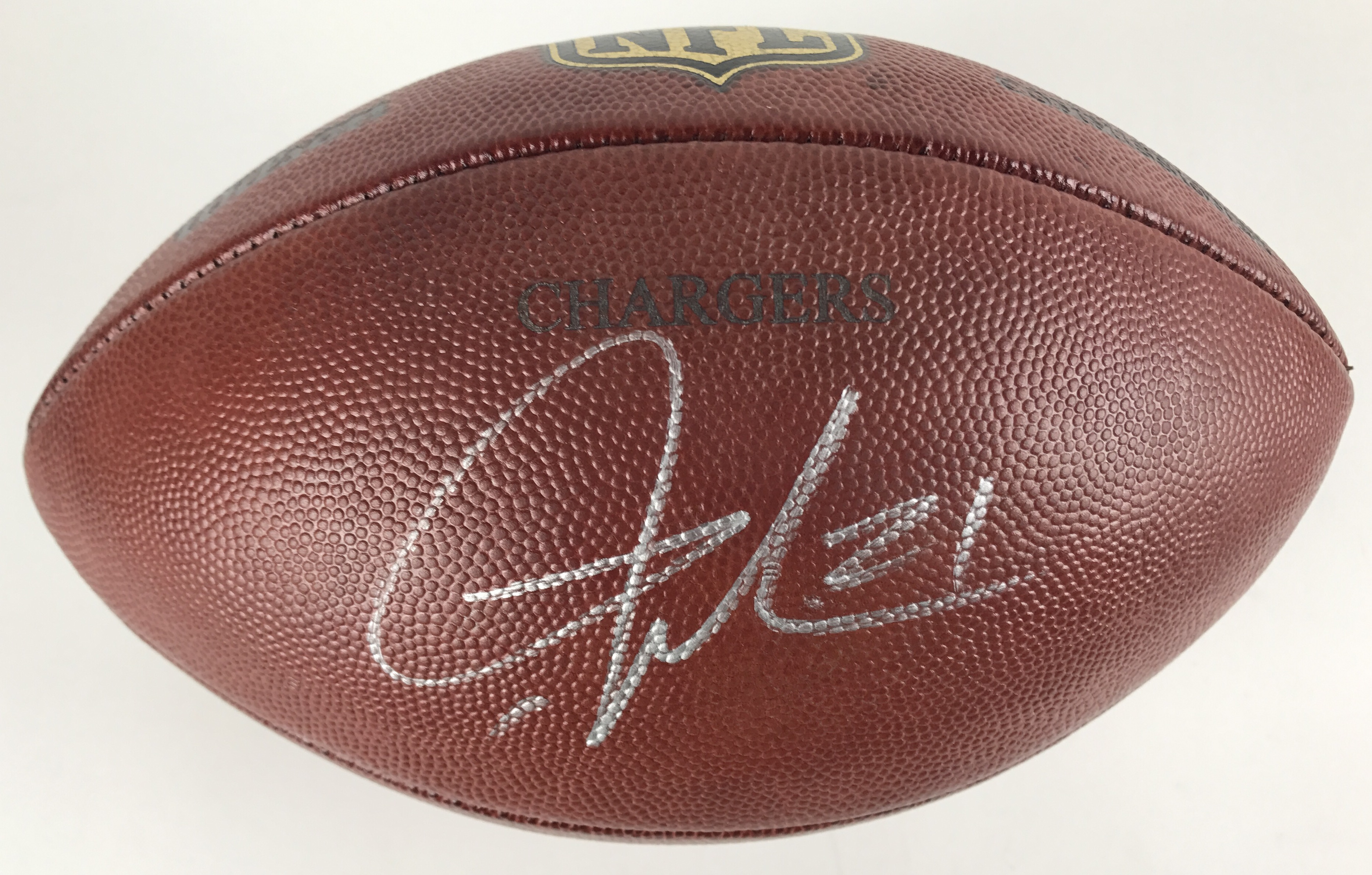 meet 335c4 9debd Lot Detail - LaDainian Tomlinson Signed Game Used Chargers ...