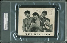 "The Beatles: Group Signed 4.5"" x 5.5"" Promotional Fan Club Photograph w/ John, George & Paul! (PSA/DNA Encapsulated)"