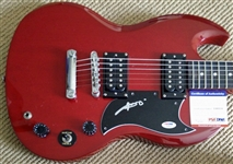 AC/DC Angus Young Signed Gibson Epiphone SG Personal Style Guitar (PSA/DNA)