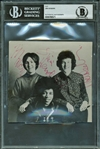 "Jimi Hendrix Experience Band Signed 5"" x 4.5"" Promotional Photograph (Beckett Encapsulated)"