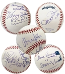 Ultra-Rare Star Wars Cast Signed OML Baseball w/ Ford, Fisher, Hamill & Others (Beckett/BAS Guaranteed)