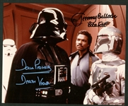 "Dave Prowse & Jeremy Bulloch Dual Signed 8"" x 10"" Color Photograph (Beckett/BAS Guaranteed)"