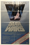 "Original 1982 Star Wars Re-Release 27"" x 41"" ROTJ Style C Poster"
