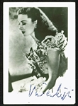 "RARE Vivien Leigh Signed 2"" x 3"" Photograph as Scarlett OHara! (JSA)"