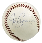 Joe Cronin Unique Signed OAL (Cronin) Baseball (JSA)