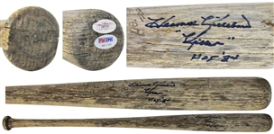 Harmon Killebrew Game Used & Signed Louisville Slugger Baseball Bat (PSA/DNA)