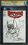 "Neal Adams Signed Batman ""Lil Gotham"" #4 Comic Book w/ Sketch (CGC Graded 9.8)"