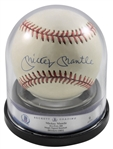 Mickey Mantle Signed OAL Baseball - BAS/Beckett Graded MINT 9!