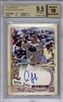 Aaron Judge Signed 2017 Topps Gypsy Queen Rookie Card - Beckett/BGS Graded 9.5 w/ 10 Autograph!