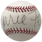 Star Wars: Carrie Fisher Impressive Signed OML Baseball (PSA/DNA)