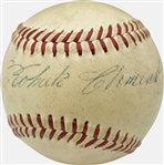 Roberto Clemente ULTRA-RARE Single Signed Sweet Spot Rookie-Era Giles (52-57) ONL Baseball (PSA/DNA)