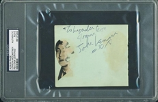 "The Beatles: John Lennon & Paul McCartney Signed 4"" x 4.75"" Album Page (PSA/DNA Encapsulated)"