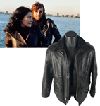 The Beatles: John Lennon Personally Owned & Worn Leather Jacket (ex. Joe Franklin)