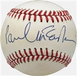 The Beatles: Paul McCartney ULTRA-RARE Single Signed OAL Baseball w/ Exceptional Signature! (JSA)