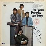 "The Beatles: Paul McCartney Signed ""Yesterday & Today"" Album Cover (BAS/Beckett)"