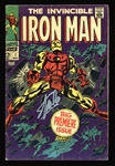 "Stan Lee Signed Original 1968 ""The Invincible Iron Man"" #1 Comic Book (PSA/DNA)"