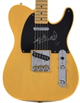 The Rolling Stones: Keith Richards Rare Signed Fender Butterscotch FSR Telecaster Guitar - Designed to the Same Style as Keiths Guitar of Choice! (PSA/DNA)