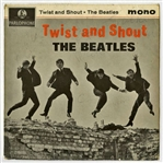 "The Beatles Group Signed 1963 ""Twist & Shout"" Vintage 7"" Parlaphone 45rpm (PSA/DNA)"