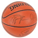 1991/92 NBA Champion Chicago Bulls Team Signed Basketball w/ Jordan & Pippen! (PSA/DNA)