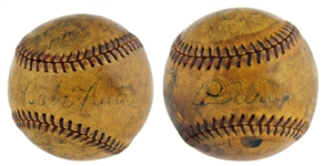 1934 NY Yankees Team Signed OAL Baseball with Ruth, Gehrig, Sewell, etc. (PSA/DNA)