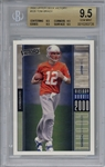 Tom Brady 2000 Upper Deck Victory Rookie Card - BGS Graded MINT 9.5!
