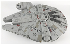 Star Wars: Harrison Ford Signed Millenium Falcon Model Ship! (Beckett/BAS)
