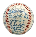 1963 Pittsburgh Pirates SUPERB Team-Signed ONL Baseball w/ Clemente & 31 Others! (PSA/DNA Graded GEM MINT 10!)