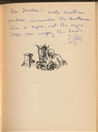 "Ty Cobb Signed & Inscribed ""Eneas Africanus"" Book w/Shocking Racial Inscription (JSA)"