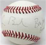 President George & Barbara Bush Dual Signed Baseball (Beckett/BAS)