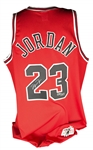 "Michael Jordan Signed Limited Edition ""Mr. June"" Chicago Bulls Jersey (UDA)"
