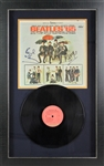"The Beatles: Paul McCartney & Ringo Starr Superb Signed ""Beatles 65"" Record Album in Custom Display (PSA/DNA)"