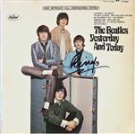 "The Beatles: Ringo Starr Signed ""Yesterday & Today"" Cover (Beckett/BAS)"