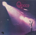 Queen Vintage c. 1973 Signed Self Titled Debut Album w/ All Four Members! (Beckett/BAS)