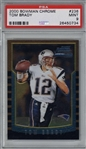Tom Brady 2000 Bowman Chrome #236 Rookie Card - PSA MINT 9!