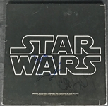 Star Wars: Harrison Ford, Carrie Fisher & George Lucas Signed Star Wars Soundtrack Album (Beckett/BAS)